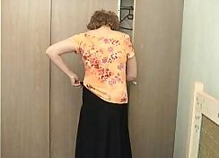 Check out this old mom with boner and ass hole