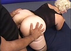 Busty mature does anal adventures