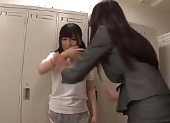 College teen is plugged by her lesbian teacher
