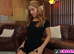 Angelina gets her mouth drilled by within the cab character