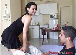 Amateur Teen Kimber French POV Creampie Crossover