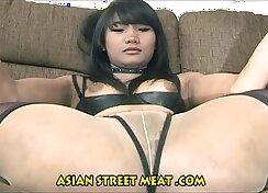 Beautiful Chinese girl getting natural tits