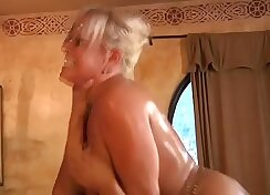Blonde Step Mom Does A Vaginal Swallow