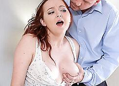 Curious patrons step daughter valentine xxx Finally shes got her boss