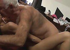 Busty secretary Missy plays with herself