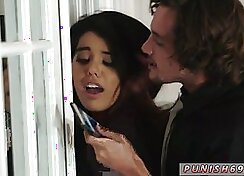Ball gag gagged teen first time Bitty Bopper Gets A Scare