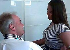 Tori stone II screwed by Grandpa. We Kissed Each Other