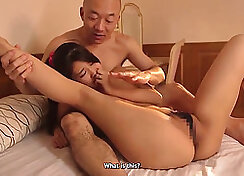 Husband films Huge Sex Massage with his Secretary