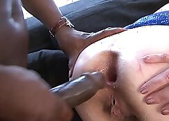 Perfect grandma gets anal fucking with Big Black