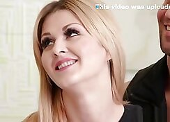 Blonde Lesbian Escort Wife Natali Gets Fucked! View more
