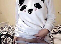 Exotic Pigtail Brunette Teen on Webcam