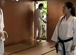 Slippery Japanese Student Fucks Teacher