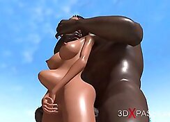 Black cock in young eight year peg deezbo