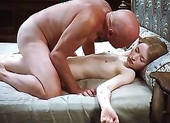 the grandpa loves the rough fucking of his hot stud