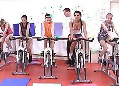 PawGators CFNM Fitness Ambition Orgy Pink