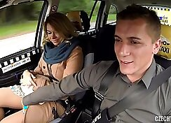 Cheating wife fucked by taxi driver