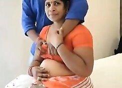 Indian Mom fucks teen again