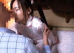 Japanese Schoolgirl Fucked With A Doggystyle DSL
