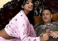 Indian chick after graduation fucked by big daddy