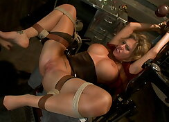 Charisma Cappelli in extreme anal sex action