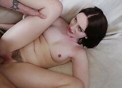 Railing hairy pussy