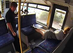 British hottie on the bus