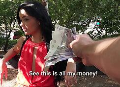 Euro hottie wild on camera