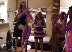 Bachelorette strip party