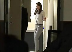 Japanese fetish girl Marie Follis gets nut pounded with a steamy cock
