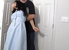 Shelter for a horny girl scene