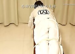 Ccbt with chinese flogging and butt spanking