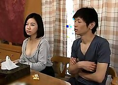 Claire Blanca asian girl massages, fucks and sucks cock
